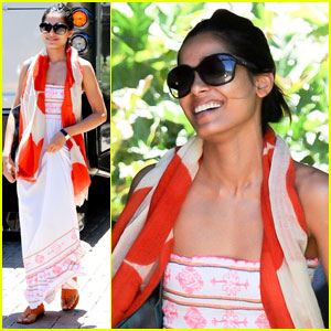 Freida Pinto: Photo Shoot in Malibu!