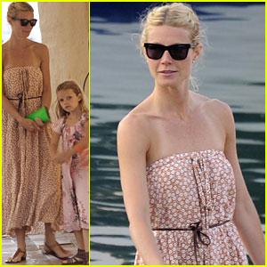 brad pitt gwyneth paltrow vacation