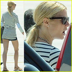 Gwyneth Paltrow: Leaving Porto Cervo