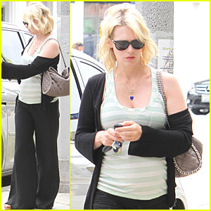January Jones Feeds the Meter