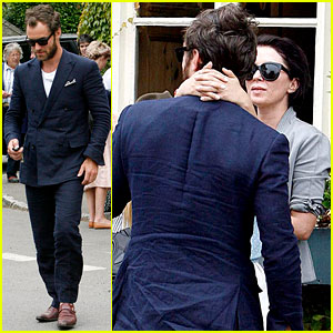 Jude Law: Kate Moss' Wedding with Sadie Frost!