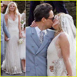 Kate Moss &#038; Jamie Hince: Just Married!