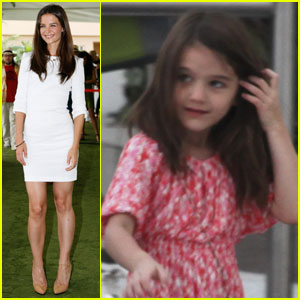 Katie Holmes & Suri Cruise: Cancun for 'Jack and Jill'!