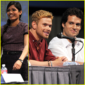 Kellan Lutz & Henry Cavill: 'Immortals' at Comic Con!