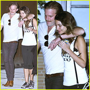 Lily Aldridge & Caleb Followill: Night Out in NYC