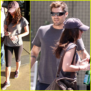 Megan Fox & Brian Austin Green: LAX to NYC!