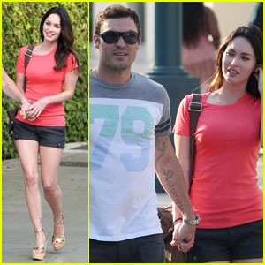 Megan Fox & Brian Austin Green: Promenade Pair