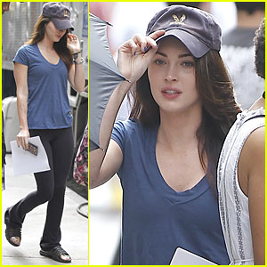 Megan Fox: 'Dictator' Set Arrival!