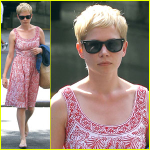 Michelle Williams: Summer Stroll in Tribeca