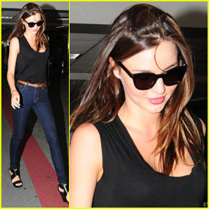 Miranda Kerr: Orlando Bloom Joked He Wanted An Epidural!