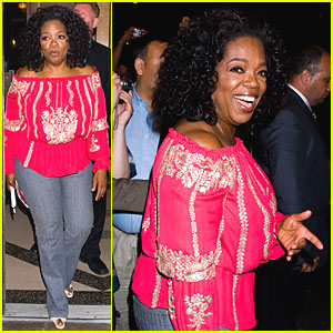 Oprah Winfrey: Book of Mormon!
