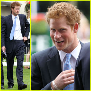 Prince Harry: King George VI & Queen Elizabeth Stakes!