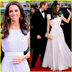 Prince William & Kate - BAFTA Brits to Watch Gala
