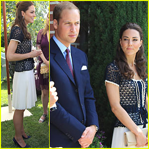 Prince William &#038; Kate: Tusk Trust Reception!