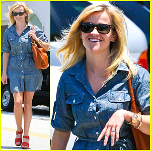 Reese Witherspoon: Byron & Tracey Salon Visit!
