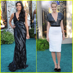 Rosario Dawson &#038; Leslie Bibb: 'Zookeeper' Premiere!