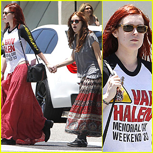 Rumer & Tallulah Willis: Shopping Sisters!