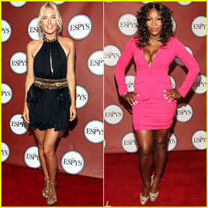 Serena Williams & Maria Sharapova - ESPY Awards 2011