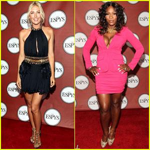 Serena Williams & Maria Sharapova - ESPY Awards 2011
