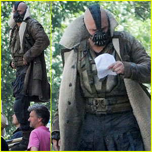 Tom Hardy: On Set As Bane fo