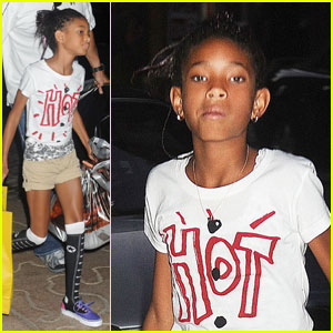 Willow Smith: 'Hot' in the East Village!
