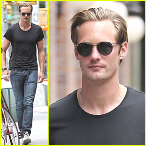Alexander Skarsgard: Lunch Break at Gemma!