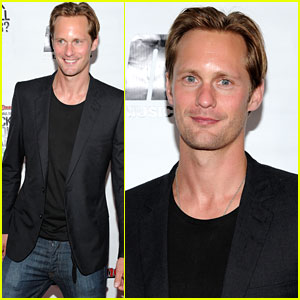 Alexander Skarsgard: Rolling Stone Cover Reveal Party!