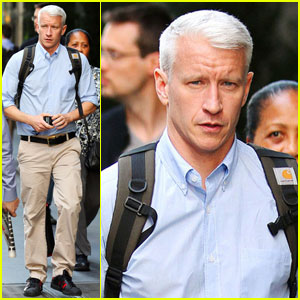 Anderson Cooper: 'I've Always Giggled Like a Teen Girl'