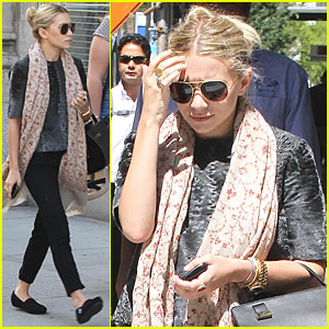Ashley Olsen Talks The Row with Mary-Kate & Telegraph