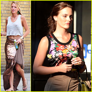 Blake Lively & Leighton Meester: 'Gossip Girl' in Queens!