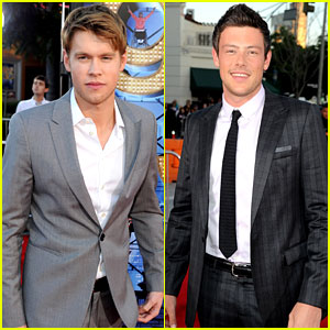 Chord Overstreet & Cory Monteith: 'Glee' Guys at the Premiere!