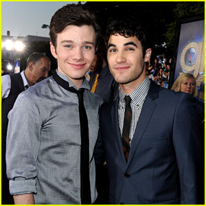 Chris Colfer & Darren Criss: 'Glee 3D' Premiere Pair!