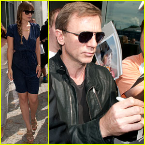 Daniel Craig: Autographs for Fans!