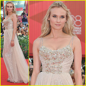 Diane Kruger: 'Ides of March' Premiere in Venice!