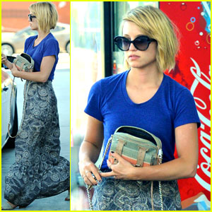 Dianna Agron Raves About 'Crazy, Stupid, Love'