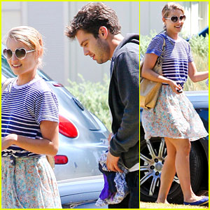 Dianna Agron & Sebastian Stan: Saturday Sweeties!