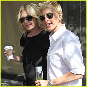 Ellen DeGeneres: Starbucks Stop with Portia!