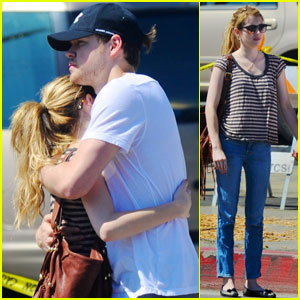 Chord Overstreet & Emma Roberts Hug It Out