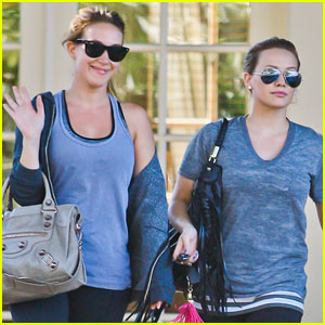 Hilary & Haylie Duff: Workout Women