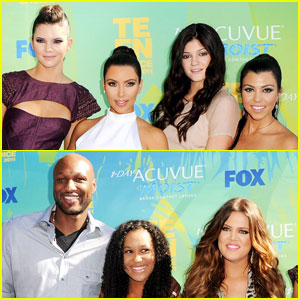 Kim, Kourtney &#038; Khloe Kardashian - Teen Choice Awards 2011 Red Carpet