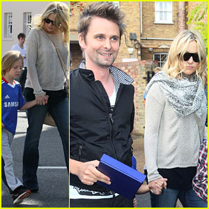 Kate Hudson: Soccer Game with Ryder and Matthew!