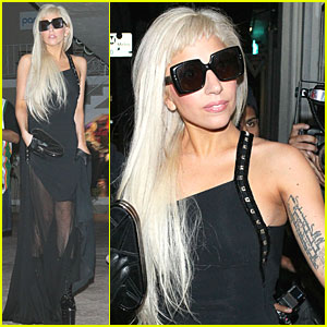 Lady Gaga: Late Night Recording Session
