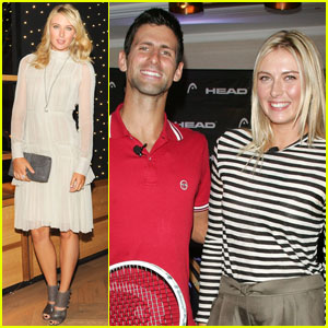 Maria Sharapova: Cole Haan & Head Launch!