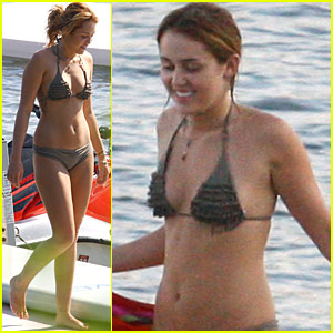 Miley Cyrus: Bikini Bod in Michigan!