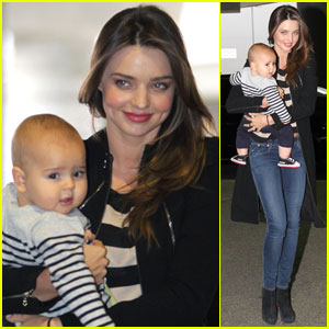 Miranda Kerr &#038; Flynn: Calm Mother &#038; Calm Baby!