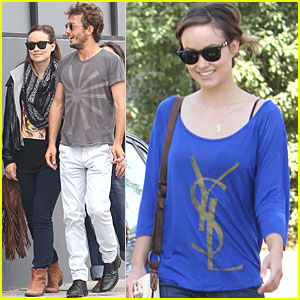 Olivia Wilde: Out to Lunch with Ex-Husband