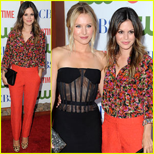 Rachel Bilson & Kristen Bell: TCA Party Pair!