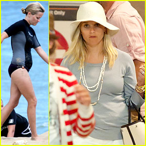 Reese Witherspoon: Hawaiian Vacation Comes to an End