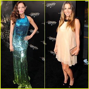 Rose McGowan & Elsa Pataky: 'Conan the Barbarian' Premiere!