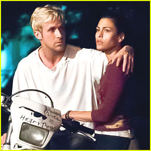 Ryan Gosling & Eva Mendes: 'Pines' Pair